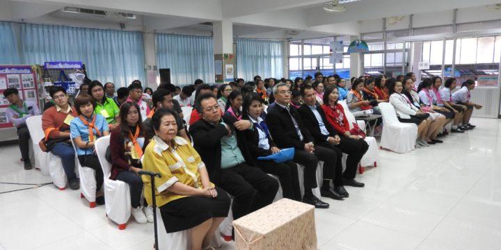 คณะผู้บริหาร คุณครูและนักเรียน จากสำนักเทศบาลนนทบุรีจำนวน 150 คน มาเยี่ยมชมโรงเรียน